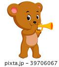 アコースティック くま クマのイラスト 39706067