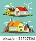 ベクター 住宅 住居のイラスト 39707508