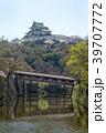 和歌山城 桜 春の写真 39707772