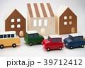 車と街のイメージ 39712412