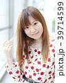 女性 若い 髪型の写真 39714599