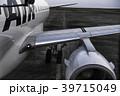 飛行機 飛行場 旅客機の写真 39715049