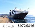 入港 クルーズ船 かごしま北埠頭の写真 39726846