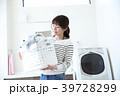 洗濯 洗濯物 女性の写真 39728299
