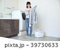 洗濯 洗濯物 女性の写真 39730633