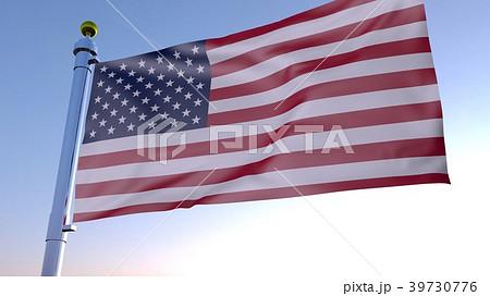 アメリカ国旗 39730776
