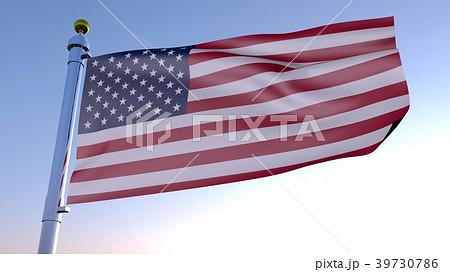 アメリカ国旗 39730786