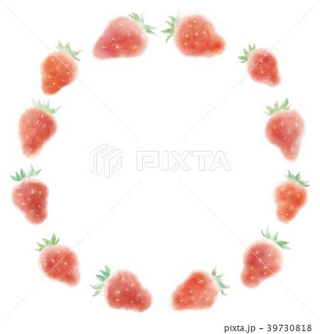 イチゴ模様 39730818