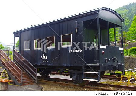 国鉄ヨ3500形貨車の写真素材 [39...