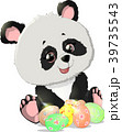 ぱんだ パンダ ベクターのイラスト 39735543