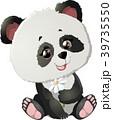 ぱんだ パンダ ベクターのイラスト 39735550