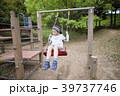 子供 女の子 公園の写真 39737746