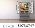 冷蔵庫 冷凍庫 冷房機器のイラスト 39738747