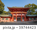 大宮 氷川神社 本殿入口 桜門  39744423