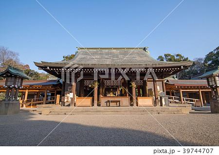 大宮 氷川神社 拝殿 本殿 39744707
