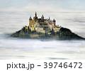 ホーエンツォレルン城 世界遺産 ヨーロッパの古城 水彩画 39746472
