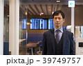 ビジネスマン 空港 出張の写真 39749757