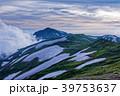 飯豊連峰・本山小屋付近から見る夕暮れの大日岳方面 39753637