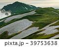 飯豊連峰・本山小屋付近から見る夕暮れの大日岳方面 39753638