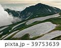 飯豊連峰・本山小屋付近から見る夕暮れの大日岳方面 39753639