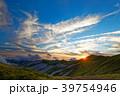 飯豊連峰・飯豊本山への日没 39754946