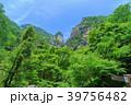 昇仙峡 覚円峰 新緑の写真 39756482