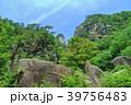 昇仙峡 覚円峰 新緑の写真 39756483