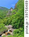 昇仙峡 覚円峰 新緑の写真 39756489