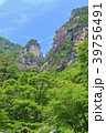 昇仙峡 覚円峰 新緑の写真 39756491