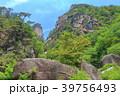 昇仙峡 覚円峰 新緑の写真 39756493