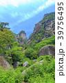 昇仙峡 覚円峰 新緑の写真 39756495
