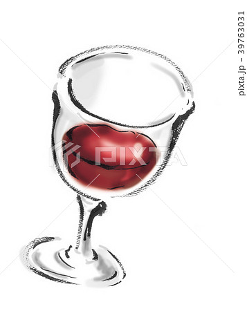 グラスワイン 赤 39763031