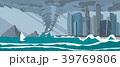 トルネード 竜巻 海のイラスト 39769806