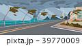 トルネード 竜巻 海のイラスト 39770009