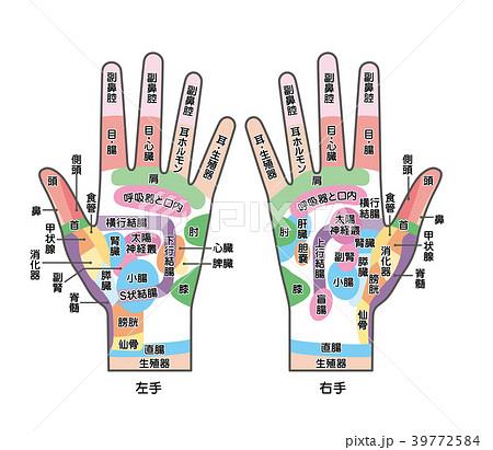 の ツボ 左手 手
