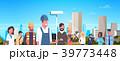 ベクトル 働く人 仕事のイラスト 39773448