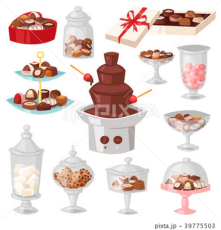 Chocolate candy vector sweet confection dessert 39775503