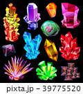 結晶 ベクター 鉱物のイラスト 39775520