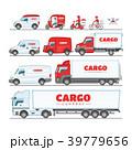 トラック ベクトル 乗り物のイラスト 39779656