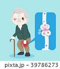 古びた 老化 高齢化のイラスト 39786273