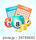 Realistic Detailed 3d Lotto Concept Card 39789602