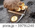 ビットコイン 袋 ザックのイラスト 39791240