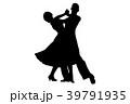 ダンス 舞う 舞踊のイラスト 39791935