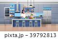 キッチン 台所 インテリアのイラスト 39792813