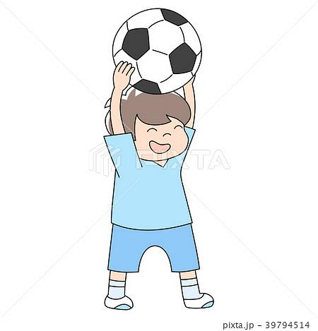 幼児3歳男の子_サッカー 39794514