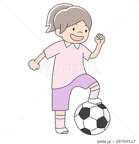 幼児3歳男の子_サッカー 39794517