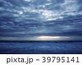 ボルネオ島の日没・ビーチ スローシャッター 39795141