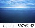 ボルネオ島の日没・ビーチ スローシャッター 39795142