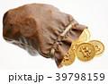 ビットコイン 袋 ザックのイラスト 39798159