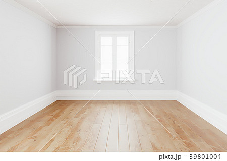 Blank simple interior room background empty white 39801004